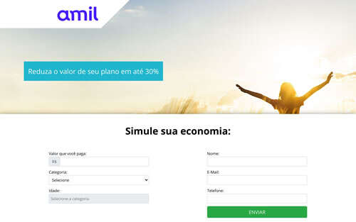 Landing Page - amil