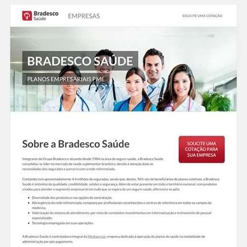 Landing Page - bradescosaude