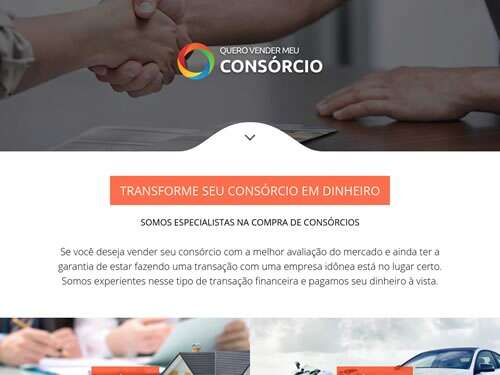 Landing Page - consorcio-compra