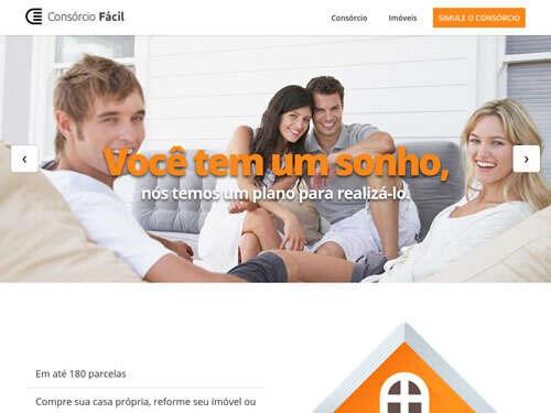 Landing Page - consorcio