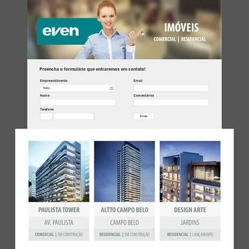 Landing Page - even