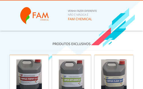 Landing Page - famchemical