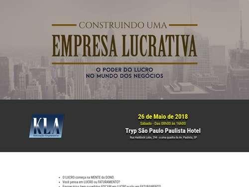 Landing Page - kla-empresa-lucrativa
