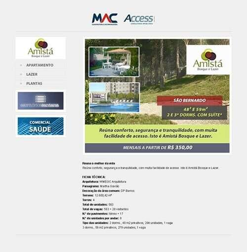 Landing Page - mac