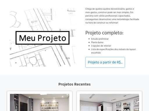 Landing Page - meuprojeto