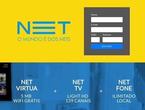Landing Page - netcombo