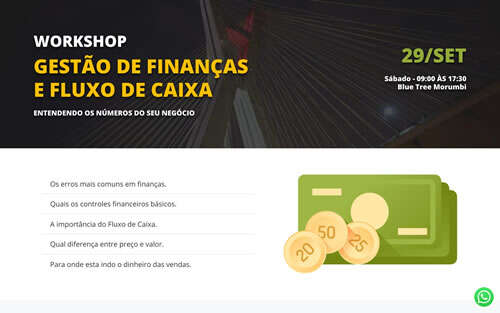 Landing Page - workshop-financas
